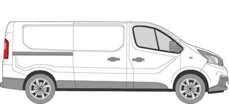 Fiat Talento Roof Racks (2016+ LWB (L2) - Low Roof (H1))