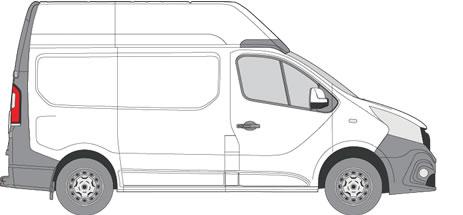 Nissan NV300 Van Racking (2016+ SWB (L1) - High Roof (H2))