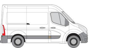 Nissan NV400 Van Racking (2010+ SWB (L1) - High Roof (H2))