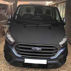 Ford Transit Custom Bonnet Bra Protector For 2018+ Models