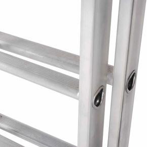 EN131 Pro Aluminium Double Ladder