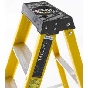 EN131 GRP Fibreglass Swingback Step Ladder