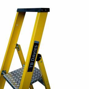 EN131 GRP Fibreglass Platform Step Ladder
