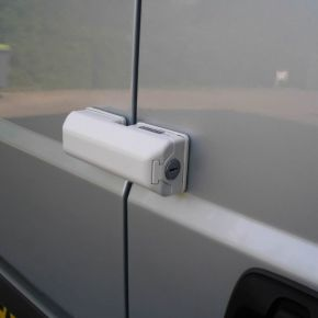 Van Door Lock - WHITE