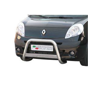 Renault Kangoo Bull Bar 2008-2013 - Stainless Steel Chrome EC APPROVED 63mm