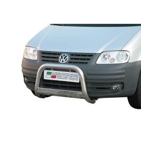 VW Caddy Bull Bar 2004-2011 - Stainless Steel Chrome EC APPROVED 63mm