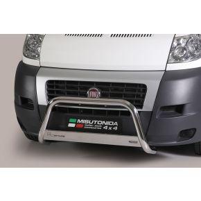 Fiat Ducato Bull Bar 2006-2013 - Stainless Steel Chrome EC APPROVED 63mm