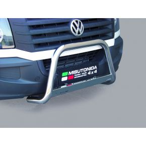 VW Crafter Bull Bar 2011-2016 - Stainless Steel Chrome EC APPROVED 63mm