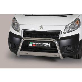 Peugeot Expert Bull Bar 2006-2015 - Stainless Steel Chrome EC APPROVED 63mm