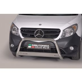 Mercedes Citan Bull Bar - Stainless Steel Chrome EC APPROVED 63mm