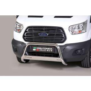 Ford Transit Bull Bar 2014+ - Stainless Steel Chrome EC APPROVED 63mm