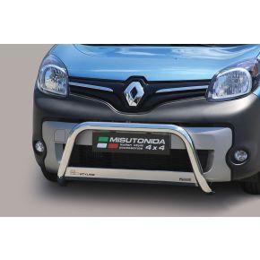 Renault Kangoo Bull Bar 2014+ - Stainless Steel Chrome EC APPROVED 63mm
