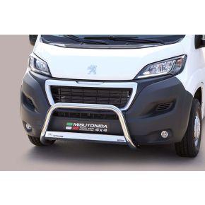 Peugeot Boxer Bull Bar 2014+ - Stainless Steel Chrome EC APPROVED 63mm