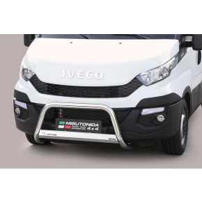 Iveco Daily Bull Bar 2014+ - Stainless Steel Chrome EC APPROVED 63mm
