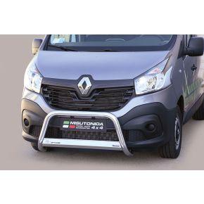 Renault Trafic Bull Bar 2014+ - Stainless Steel Chrome EC APPROVED 63mm