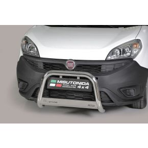 Fiat Doblo Bull Bar 2015+ - Stainless Steel Chrome EC APPROVED 63mm