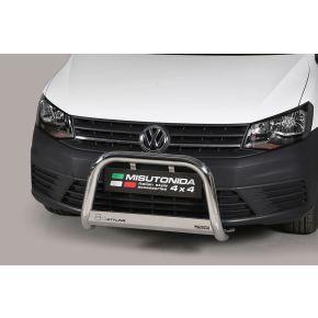 VW Caddy Bull Bar 2015+ - Stainless Steel Chrome EC APPROVED 63mm