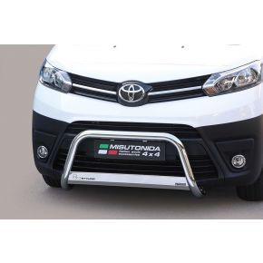 Toyota Proace Bull Bar 2016+ - Stainless Steel Chrome EC APPROVED 63mm