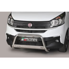 Fiat Talento Bull Bar 2016+ - Stainless Steel Chrome EC APPROVED 63mm