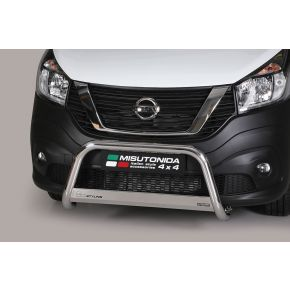 Nissan NV300 Bull Bar - Stainless Steel Chrome EC APPROVED 63mm
