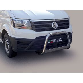VW Crafter Bull Bar 2017+ - Stainless Steel Chrome EC APPROVED 63mm