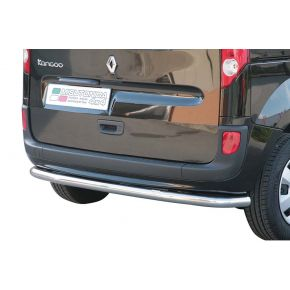 Renault Kangoo Rear Nudge Bar 2008+ Stainless Steel Chrome
