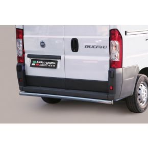 Fiat Ducato Rear Nudge Bar 2006+ Stainless Steel Chrome