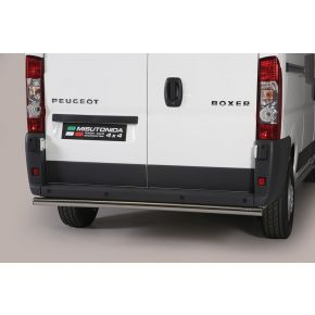 Peugeot Boxer Rear Nudge Bar 2006+ Stainless Steel Chrome