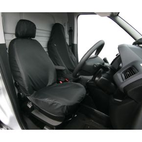 Tailored Single Front Seat Cover For Citroen Nemo, Fiat Doblo 2010+, Fiat Fiorino, Peugeot Bipper, Vauxhall Combo 2012-2018