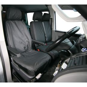 Tailored Single Front Seat Cover For VW Transporter T5/T6