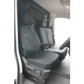 Tailored Single Front Seat Cover For MAN TGE, VW Crafter 2017+