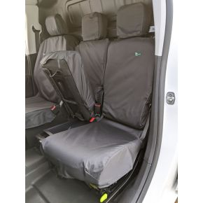 Tailored Double Passenger Seat Cover For Citroen Berlingo 2018+, Nissan NV250, Peugeot Partner 2018+, Toyota Proace City, Vauxhall Combo 2018+