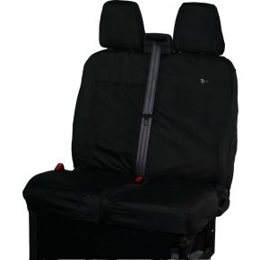 Tailored Double Front Passenger Seat Cover For Ford Transit Custom