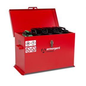Armorgard TransBank TRB4 Secure Site Box/Van Tool Chest For Fuel/Chemicals
