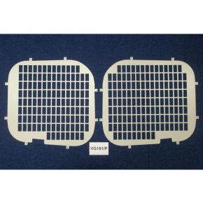 Nissan NV300 Rear Window Grilles For 2016+ Low Roof H1 Models