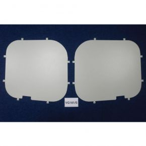 Nissan NV300 Rear Window Blanks For 2016+ Low Roof H1 Models