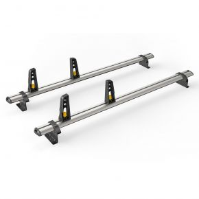 Nissan Primastar Roof Rack For 2002-2014 High Roof H2 Models (2 Roof Bars - ULTI Bar By Van Guard)