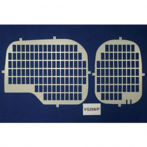 Citroen Nemo Rear Window Grilles For 2008+ Models