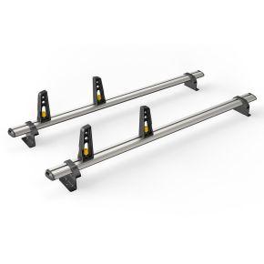 Nissan NV200 Roof Rack For 2009+ Models (2 Roof Bars - ULTI Bar By Van Guard)