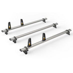 Nissan NV200 Roof Rack For 2009+ Models (3 Roof Bars - ULTI Bar By Van Guard)