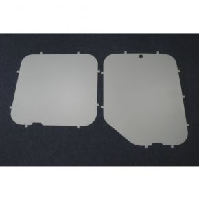 Nissan NV400 Rear Window Blanks For 2010+ Models
