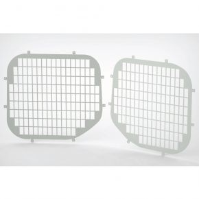 Ford Transit Custom Rear Window Grilles For 2013+ Low Roof H1 Models