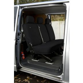 Tailored Folding Rear Seat Cover For VW Transporter T5/T6