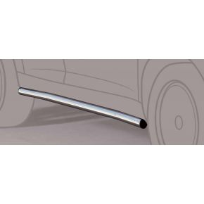 Mercedes Viano Side Bars 2010+ SWB (Round) Stainless Steel Chrome