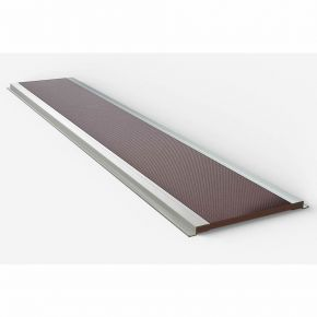 Single Piece Ply Roof Platform With Aluminium Side Channels - 2000mm Long