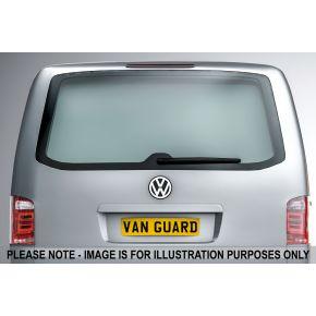 VW Transporter T6 Rear Window Blank For 2015+ Low Roof H1 Models