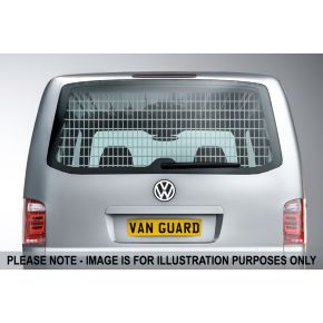 VW Transporter T6 Rear Window Grille For 2015+ Low Roof H1 Models